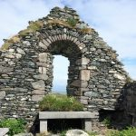 Ruins of St. Coleman's Abbey.