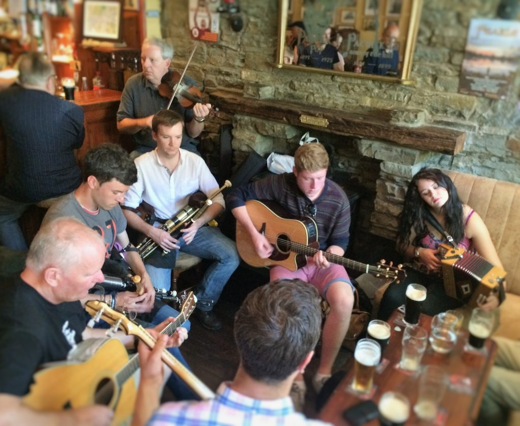 Pub session in Egan's
