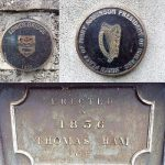 Historical Bridge Plaques and one to mark Mary Robinson's brithplace.