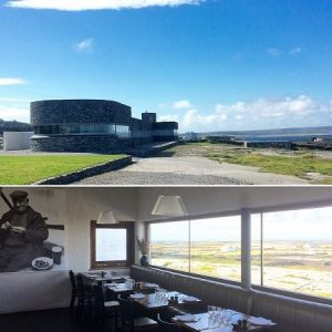 The elegant Inis Meáin Suites and Restaurant.