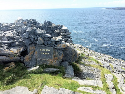 A magical place over-looking the Atlantic and nearby Inis Mór.