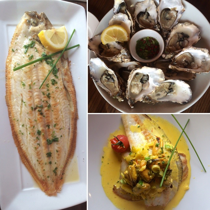 Wonderful fresh Irish seafood well prepared and simply delicious.
