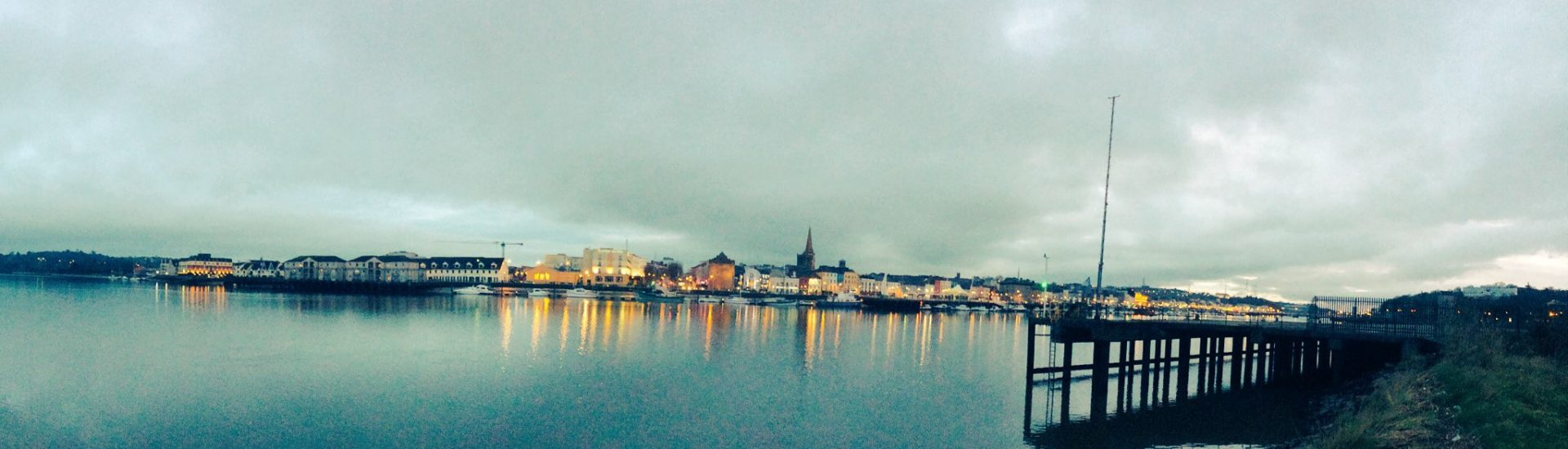 Waterford City from across the River Suir.