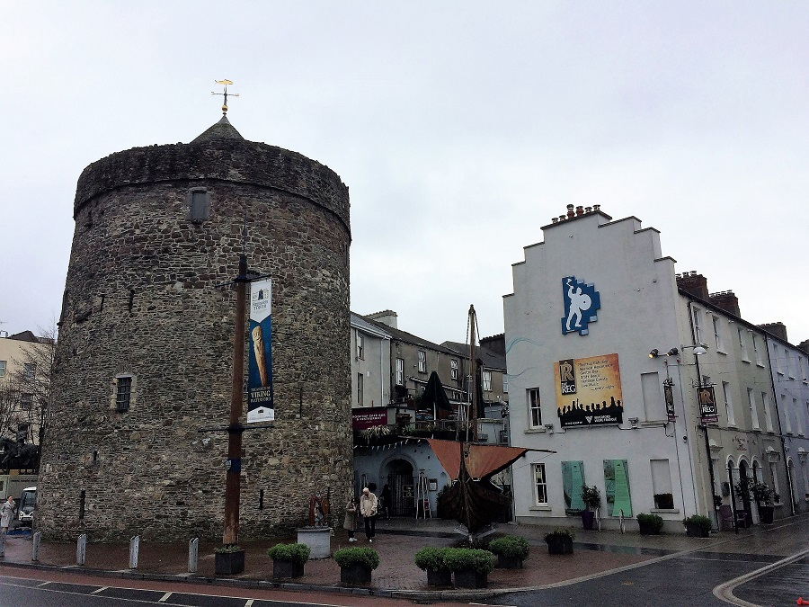 The medieval Reginald's Tower in city's Viking quarter.